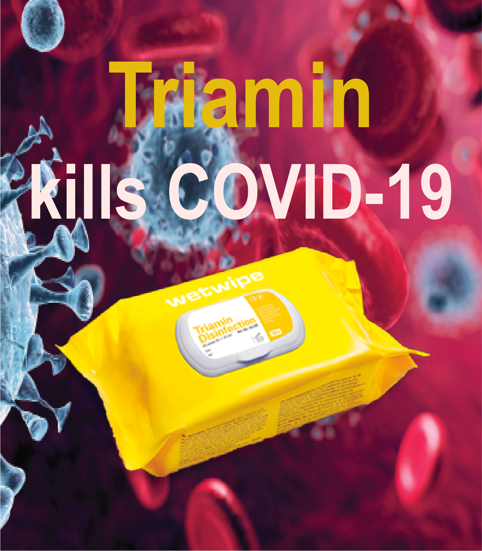 Triamin kills Covid19